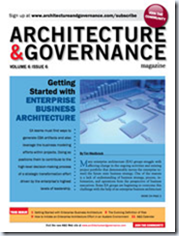 Mike the architect for Architecture of e governance