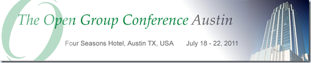 Mike Walker's Blog: Open Group Conference Austin 2011–Keynote Coverage Day 1