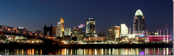 Mike The Architect Blog: Cincinnati Skyline